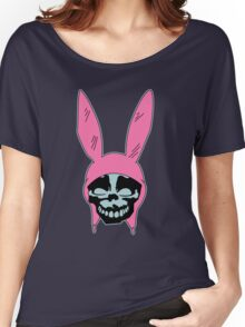 Grey Rabbit/Pink Ears Women's Relaxed Fit T-Shirt