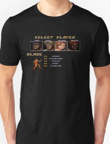 Streets of Rage 2 – Select Blaze T-Shirt