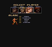 Streets of Rage 2 – Select Blaze Unisex T-Shirt