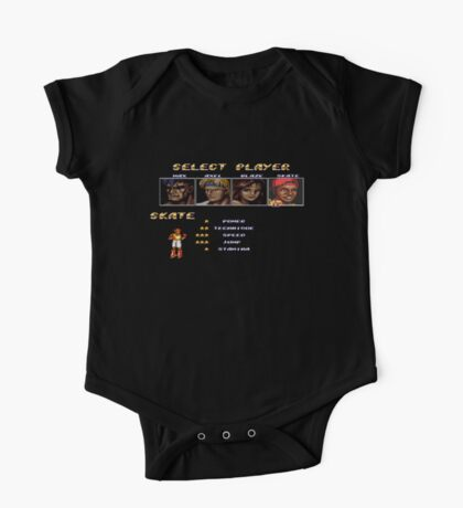 Streets of Rage 2 – Select Skate One Piece - Short Sleeve