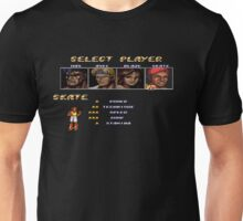Streets of Rage 2 – Select Skate Unisex T-Shirt