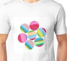 A World of Colorful Cirlces Unisex T-Shirt