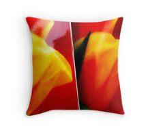 Tulip cups. I Throw Pillow
