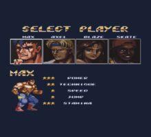 Streets of Rage 2 – Select Max Kids Tee
