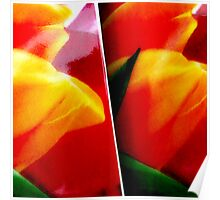 Tulip cups. II Poster