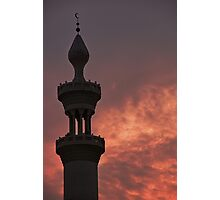 Call to prayer - Dubai Photographic Print