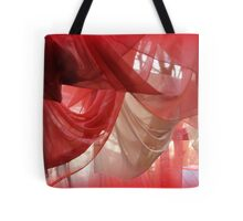 drapery of colored silks Tote Bag