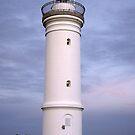 Kiama Lighthouse at Dusk by waxyfrog