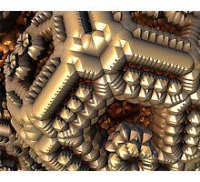 Metallic Math Photographic Print
