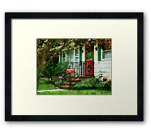 Home That Always Celebrates Christmas Framed Print