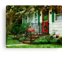 Home That Always Celebrates Christmas Canvas Print