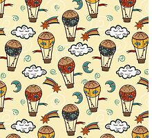 Hot air baloons by Elsbet
