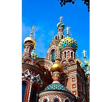 Russian traditional church Photographic Print