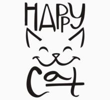 Happy Cat Baby Tee