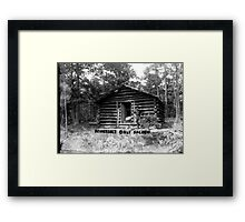 Tennessee's Only Saloon Framed Print