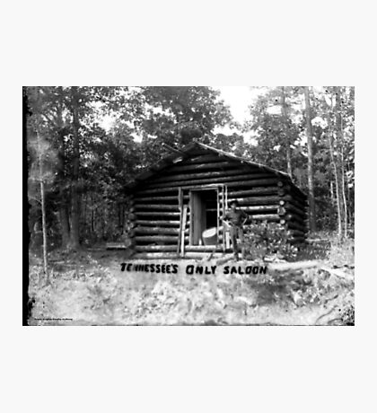 Tennessee's Only Saloon Photographic Print