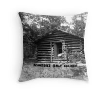 Tennessee's Only Saloon Throw Pillow