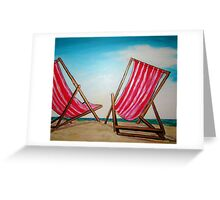 Beach Chairs May '11 Greeting Card