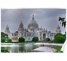 Victoria Memorial Hall, Calcutta (Kolkata) Poster