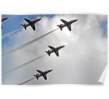 Red Arrows - Low Flypast Poster