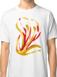Flame Abstract Art Classic T-Shirt