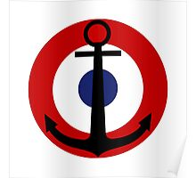 French Naval Aviation - Roundel Poster