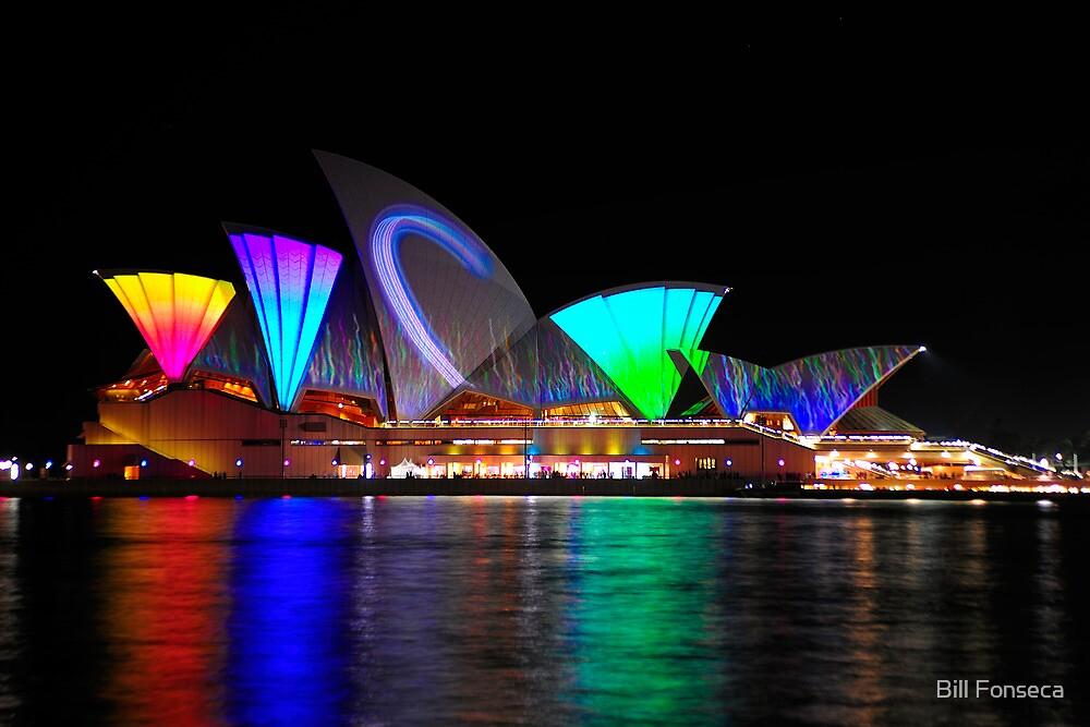 Sydney Opera House 2   Vivid Sydney 2011 by Bill Fonseca