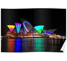 Sydney Opera House 2 | Vivid Sydney 2011 Poster