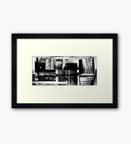 Sea Shanty - Briney Home - Rusty Gate Framed Print