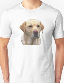 Yellow Lab Faithful Friend Unisex T-Shirt