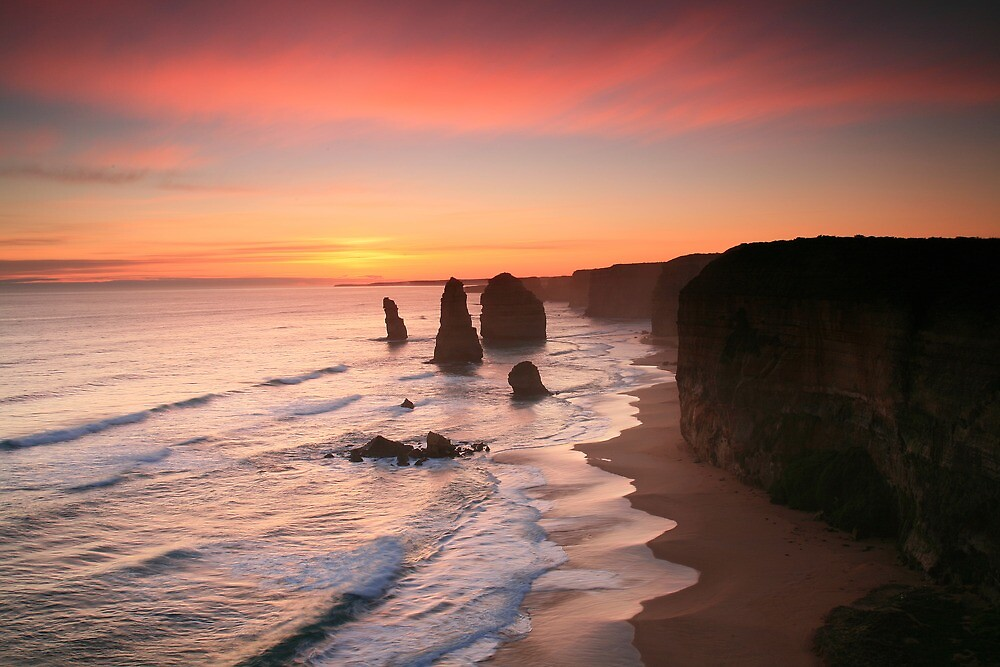 The Magnificent Twelve Apostles by Cameron B