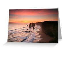 The Magnificent Twelve Apostles Greeting Card