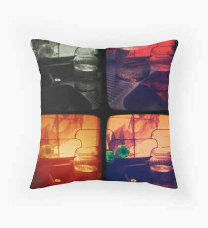 Lost in Numbers_Quadro Throw Pillow