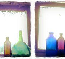 BLUE bottles by Maliha Rao