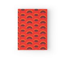 Blood Orange Scallop Hardcover Journal