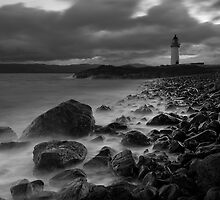 Rubha nan Ghall Lighthouse 01 - Near Tobermory, Mull by Simon Lupton