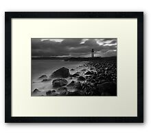 Rubha nan Ghall Lighthouse 01 - Near Tobermory, Mull Framed Print