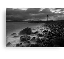 Rubha nan Ghall Lighthouse 01 - Near Tobermory, Mull Canvas Print