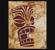 Tiki Original Painting  by Macula