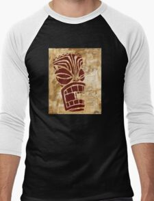 Tiki Original Painting  Men's Baseball ¾ T-Shirt