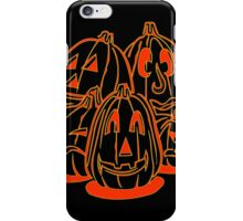 Jack o Lanterns iPhone Case/Skin