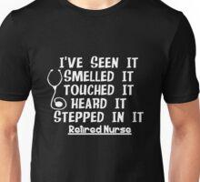 Funny Nurse Retirement Unisex T-Shirt