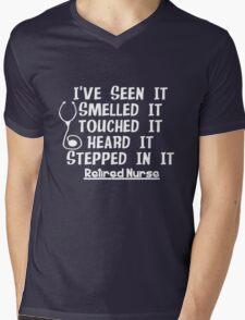 Funny Nurse Retirement Mens V-Neck T-Shirt