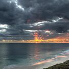 Sunset at Jindalee by Mark Hyland