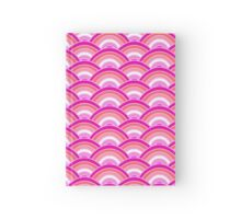 Pink Pearl Scallop Hardcover Journal