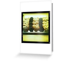 Fresh Pastries Greeting Card