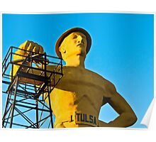 Golden Driller Poster