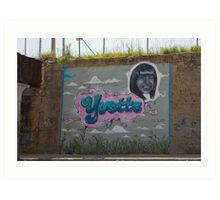 R.I.P. Yvette Art Print