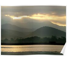 Inle Sunrise Poster