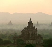Temples of Bagan by SerenaB